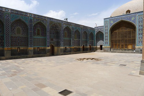Sheik Safi monument.