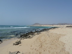 Beach and Dunes south of Corralejo