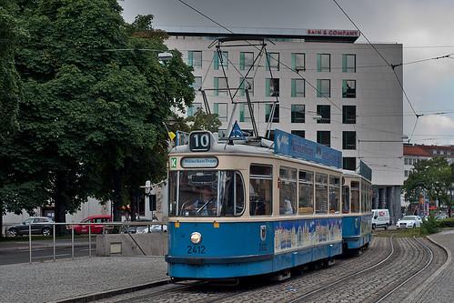 Während der Bauarbeiten in der Müllerstraße kommt die München-Tram am Lenbachplatz zweimal vorbei
