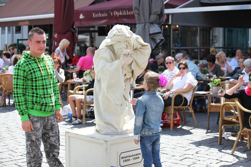 Living Statues Festival 2011 - Den Bosch