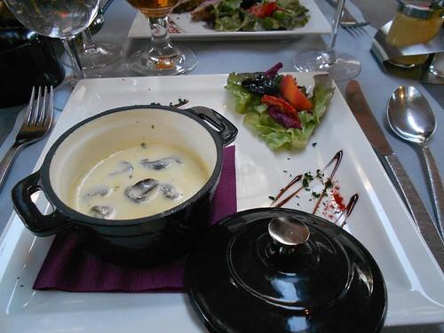 Cassolette D'Escargots a Creme D'Ail
