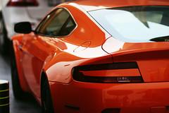 Curves (| Musfirs) Tags: orange mall dubai parking uae british parked custom astonmartin vantage v12 astonmartinvantage dubaimall