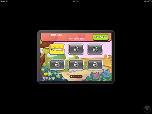 Tap Tap Blitz Level Selection: screenshots, UI