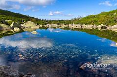Mirror in the lake (Sagittarius_photography) Tags: lake water mirror green blue landscape poland rocks travel adventure