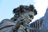 Rings on her fingers (Sir Trev) Tags: banburycross finelady rings statue bronze nurseryrhyme