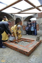 90. The Laying of the Foundation Stone of the Church of Saints Cyril and Methodius / Закладка храма святых Мефодия и Кирилла 09.10.2016