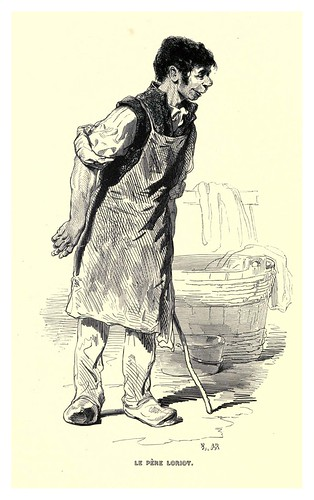 009-El padre Loriot-Le juif errant 1845- Eugene Sue-ilustraciones de Paul Gavarni