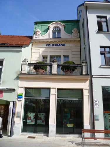 Baden, Baja-Austria (el arte de las fachadas de Baden), Hauptplatz