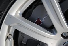 Audi Q7 V12 ceramic brakes