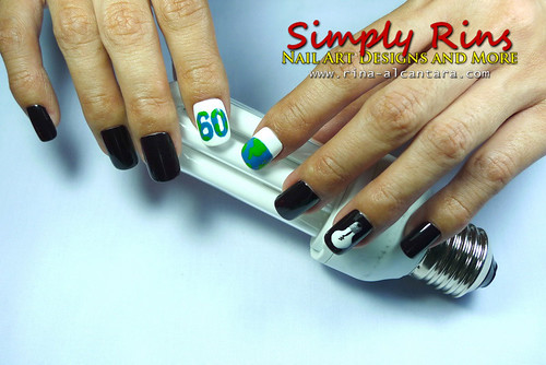 Nail Art Earth Hour 07