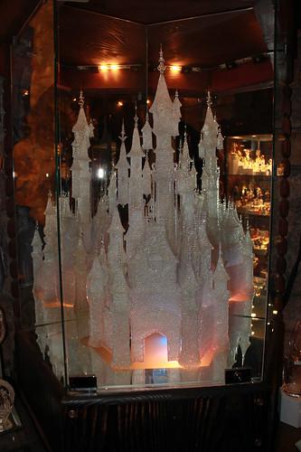 super expensive crystal castle