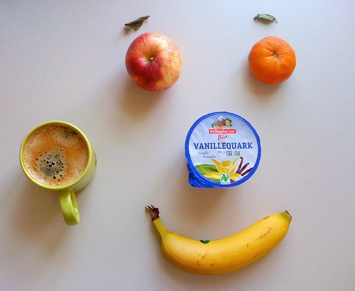 Bio-Vanillequark, Royal Gala, Clementine & Banane