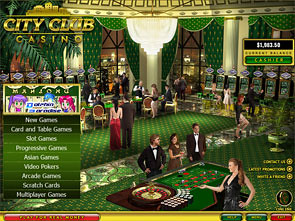 City Club Casino Lobby