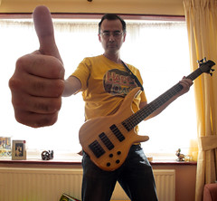 Thumbs up (Rob Johnstone) Tags: idea bass band thumb draft