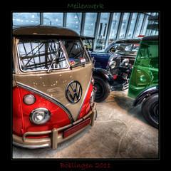 T1 (Explored) (Kemoauc) Tags: auto blue red colour green car vw photoshop nikon oldtimer bully hdr t1 topaz historisch meilenwerk d90 photomatix nikond90 hdrterrorist kemoauc