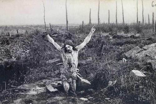 Cristo das Trincheiras - (Neuve-Chapelle)