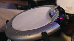 Korg WaveDrum Test (Dean Terry) Tags: drums synth korg electronicmusic instrument drumming drumsticks wavedrum