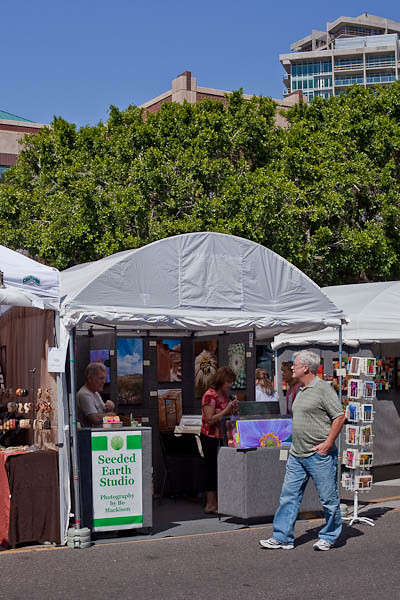Seeded Earth Photography at Tempe Festival of the Arts