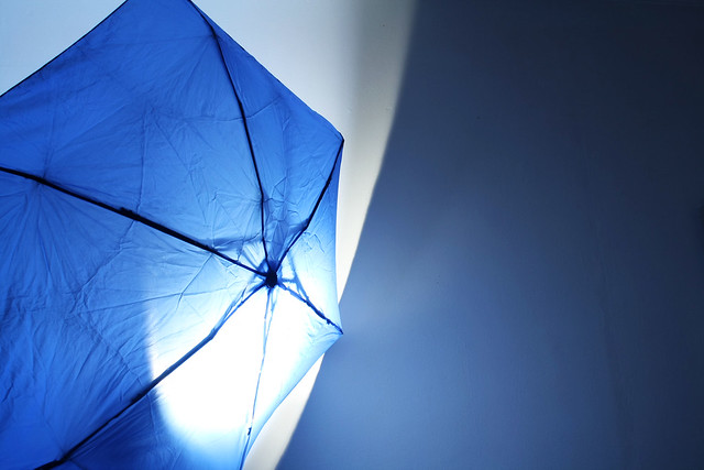 Day 208 - Blue Light Umbrella