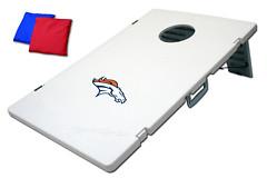 Denver Broncos TailGate Toss 2.0 Plastic Cornhole Boards