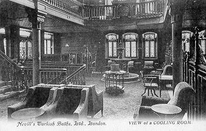 Cooling-room in the Nevills Baths