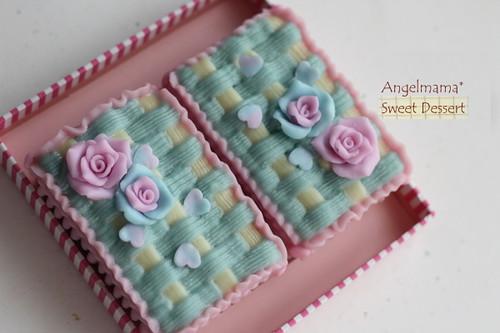 天使媽媽蛋糕模 042