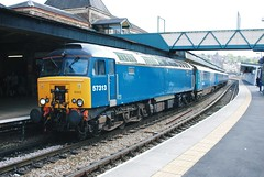 57 313 (hugh llewelyn) Tags: class 47 alltypesoftransport