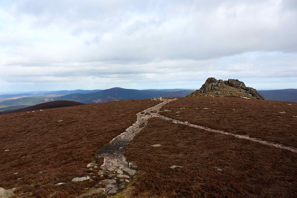 Summit of Clachnaben