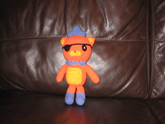 Kwazii Kitten (sassi-sketti) Tags: boy orange kids toy kitten handmade crochet multicoloured homemade amigurumi octonauts kwazii