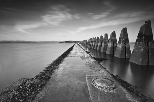 Cramond Causeway Mono 2 April 2011
