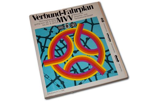 Der erste Verbundfahrplan trat zwar erst am 28. Mai 1972 in Kraft, der MVV wurde jedoch bereits ein Jahr früher gegründet.