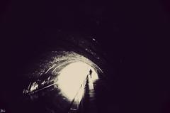 Little Venice canal tunnels (Gavin Hammond) Tags: venice london water river james canal blackwhite lomo little tunnel bond gavinhammond