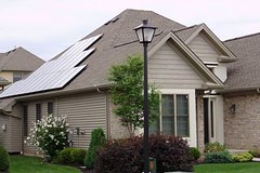 Williamsville, NY residential solar installation