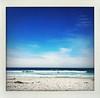Carmel Beach (happygrrl) Tags: ocean california blue beach water sand bluesky squareformat carmel coastline iphone carmelbeach shakeit carmelcalifornia sandandsky ilovemyiphone