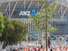 Water feature next to ANZ Stadium (Gavin Anderson) Tags: sydney essendon 3411 anzstadium closematch footyweekend