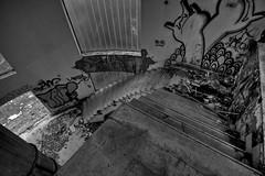 Escalera (Iñaki Couceiro) Tags: bw españa white black abandoned industry canon spain industrial country steps sigma escalera alava 1020 industria basque vasco hdr euskadi fabrica vitoria pais slaughterhouse gasteiz abandonado matadero inundado awash poligono manufactures 400d jundiz