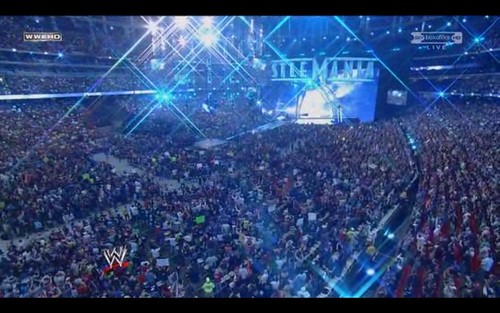 Wrestlemania 27 crowd