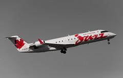 JAZZ CRJ-200ER C-GJZZ (C McCann) Tags: canada vancouver airplane island airport bc aircraft aviation air airplanes north jazz columbia victoria international british sidney saanich cyyj yyj crj200er cgjzz
