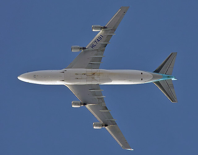 Korean Air B744 HL7491