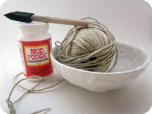 DIY Hemp/Jute/Twine/Raffia nest