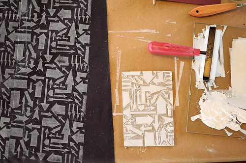 Block Printing with Lizzy House