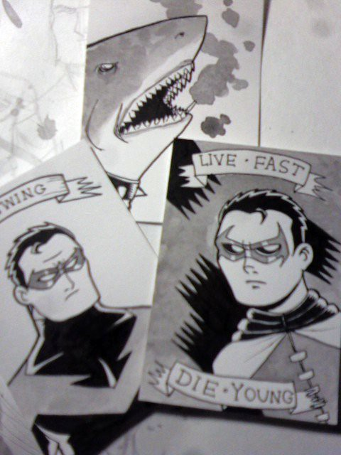 New sketch cards