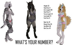 What's Your Number? (Blaise Glendevon) Tags: secondlife exile glitterati luxuria wtw reelexpression calicoingmanncreations tokushi fishystrawberry kinzart exposeur elikatira
