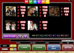 free My Slot slot my paytable