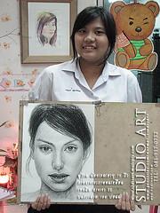 Drawing Portrait วาดเส้นคนเหมือน