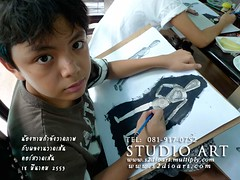 Nong Tam Learning Drawing @ studio art