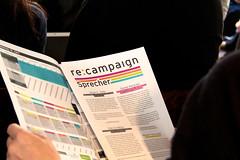 re:campaign: Bunt und Print
