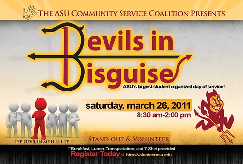 Devils in Disguise community service program, Arizona State University