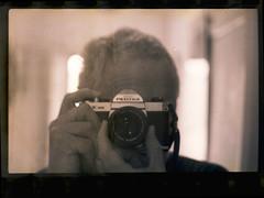 Pentax K1000 Kodachrome Found Film last frame (heritagefutures) Tags: film found kodak 64 epson kodachrome perfection caffenol v700 silverfast caffenolc