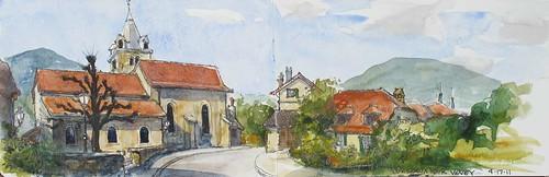 Corseaux-sur-Vevey by Spencer Mackay